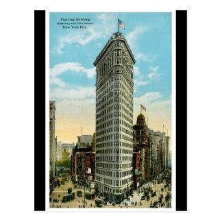De vlakke Bouw van het Ijzer. Broadway en Vijfde Briefkaart