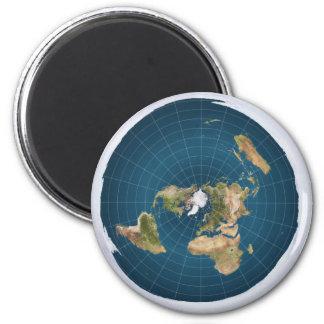 De vlakke Magneet van de Kaart van de Aarde