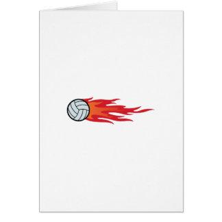 De Vlammen van het volleyball Kaart