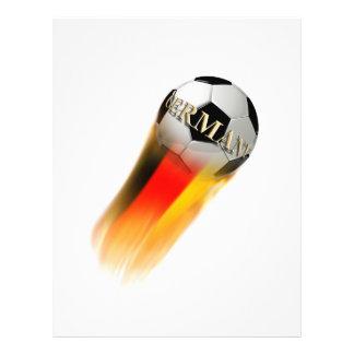 De vlammende Bal van het Voetbal van Duitsland
