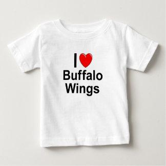 De Vleugels van buffels Baby T Shirts