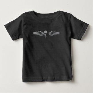 De Vleugels van de schedel Baby T Shirts