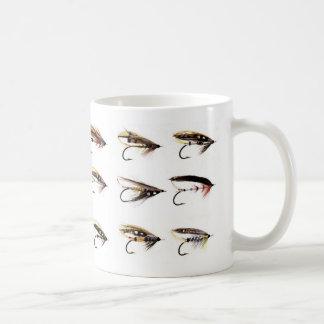 De Vliegen van de zalm Koffiemok