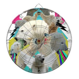 De vliegende Polaire Regenbogen van het Braaksel v Dartbord