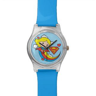 De Vliegende Regenboog van Supergirl van Chibi Horloge