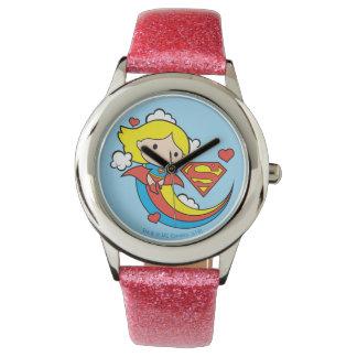 De Vliegende Regenboog van Supergirl van Chibi Horloges