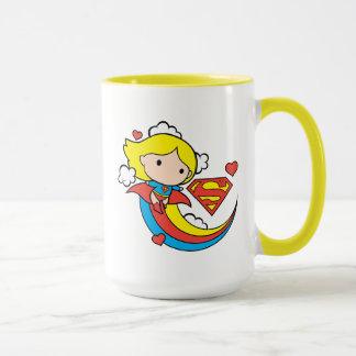 De Vliegende Regenboog van Supergirl van Chibi Mok
