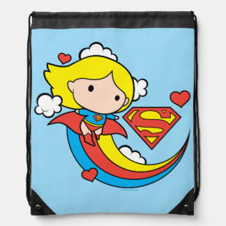De Vliegende Regenboog van Supergirl van Chibi Trekkoord Rugzakje