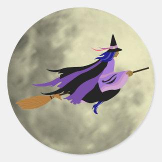 De vliegende Stickers van de Heks
