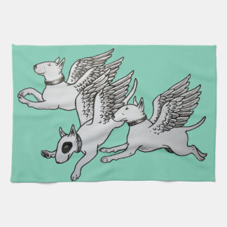 De vliegende Theedoek van Terriers van de Stier