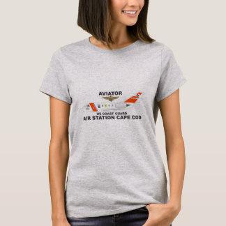 De Vliegenier van Cape Cod van de Post van de T Shirt