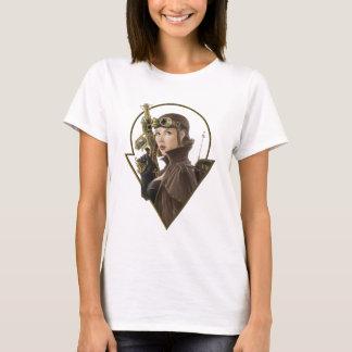 De Vliegenier van Steampunk T Shirt