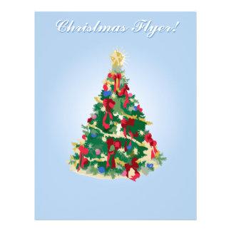 De Vlieger van de vakantie: Kleurrijke Kerstboom Folders