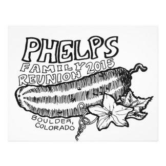 De Vlieger van Phelps Flyer 21,6 X 27,9 Cm