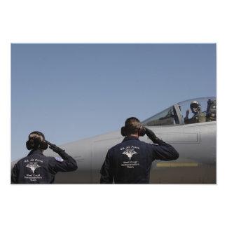 De Vliegers van de Luchtmacht van de V.S. Fotografische Afdruk