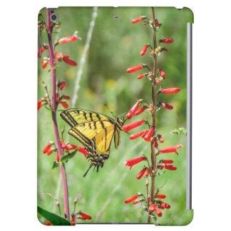 De Vlinder en Wildflowers van Swallowtail van de