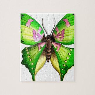 De Vlinder van Colorfull Legpuzzel