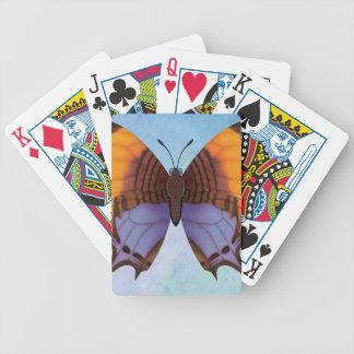 De Vlinder van Daggerwing van het viooltje Bicycle Speelkaarten