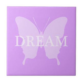 De Vlinder van de droom Keramisch Tegeltje