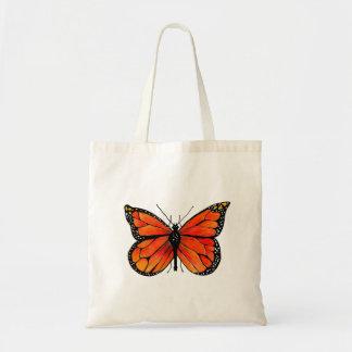 De Vlinder van de monarch bij het Canvas tas