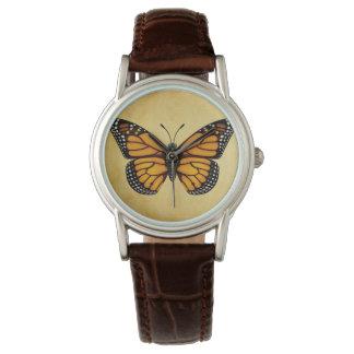 De Vlinder van de monarch Horloges