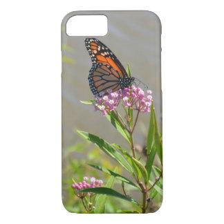 De Vlinder van de monarch iPhone 8/7 Hoesje