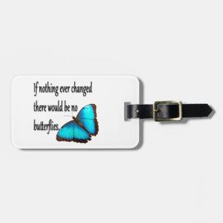 De Vlinder van de monarch Kofferlabel
