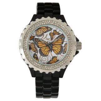 De Vlinder van de monarch Polshorloges