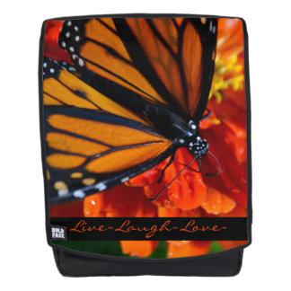 De Vlinder van de monarch Rugtassen