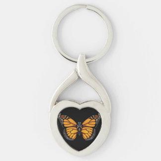 De Vlinder van de monarch Sleutelhanger