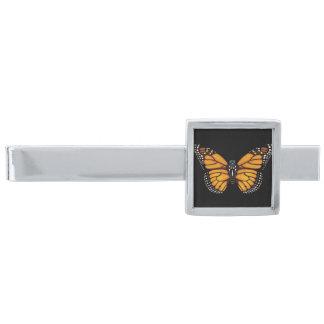 De Vlinder van de monarch Verzilverde Dasspeld