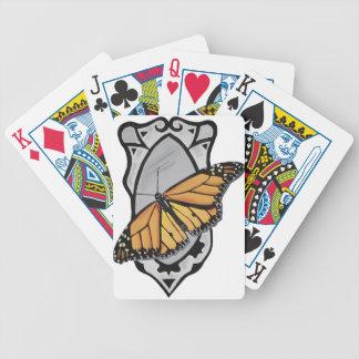 De Vlinder van de spiegel Poker Kaarten