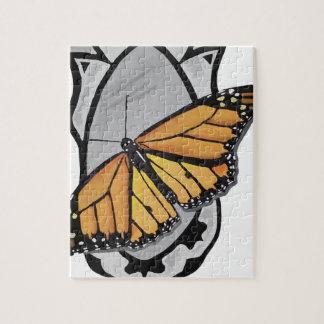 De Vlinder van de spiegel Puzzel