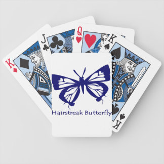 De Vlinder van Hairstreak Poker Kaarten