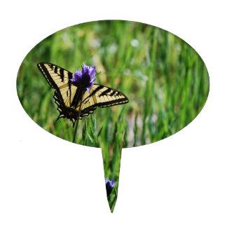 De Vlinder van Swallowtail van de tijger Cake Toppers