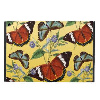 de vlinders mengen geel iPad air hoesje