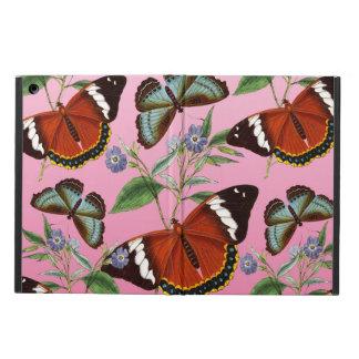 de vlinders mengen roze iPad air hoesje