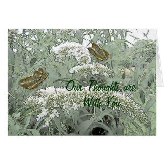 De vlinders op een Struik van de Vlinder passen Briefkaarten 0