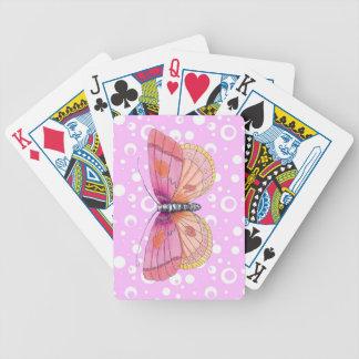 De Vlinders van Bubblegum Poker Kaarten