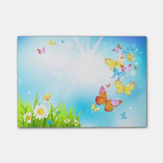 De Vlinders van de lente Post-it® Notes