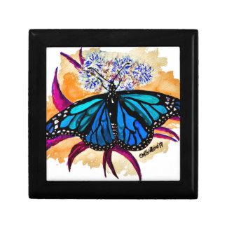 De Vlinders van de monarch Decoratiedoosje