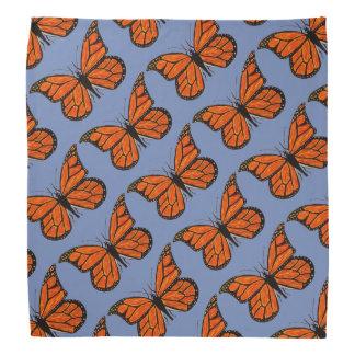 De Vlinders van de monarch op Bandana