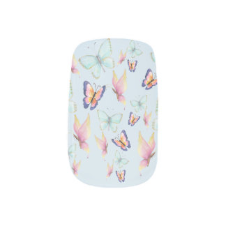 De vlinders zijn Vrij Minx Nail Folie