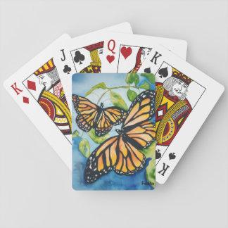 De vlindersspeelkaarten van de monarch speelkaarten