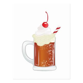 De Vlotter van het Bier van de wortel Briefkaart