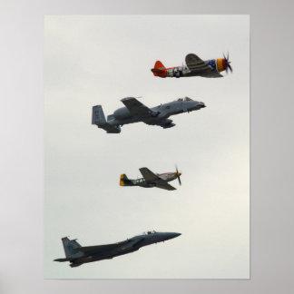 De Vlucht van de Erfenis van de luchtmacht Poster