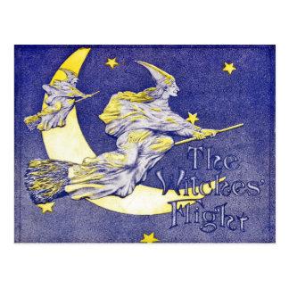 De vlucht van de Heksen Briefkaart