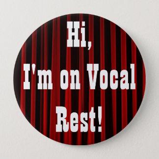 De vocale Knoop van de Rust Ronde Button 4,0 Cm