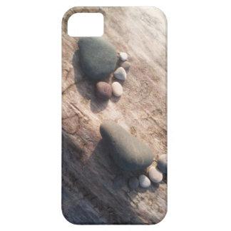 De Voetafdrukken van de rots Barely There iPhone 5 Hoesje