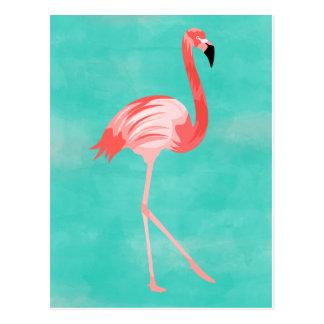 De Vogel van de flamingo Briefkaart